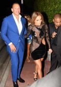 Jennifer Lopez at her Birthday Party celebrated by boyfriend Alex Rodriguez in Miami