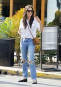 Jessica Gomes Out and About in Beverly Hills