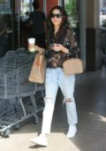 Jessica Gomes Shopping and getting some Coffee while out in Beverly Hills