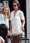 Jessica Shears out shopping while on holiday in Marbella, Spain