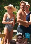 Julianne Hough at her Pre-Wedding Party on Lake Coeur d'Alene