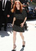 Julianne Moore at Chanel Show during Front Row Fall/Winter 2017 Haute Couture Fashion Week in Paris, France