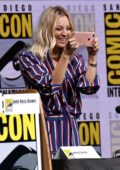 Kaley Cuoco at The Big Bang Theory panel during Comic Con International 2017 in San Diego