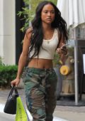 Karrueche Tran out for shopping in West Hollywood