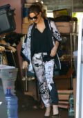 Kate Beckinsale out running errands in Brentwood, Los Angeles