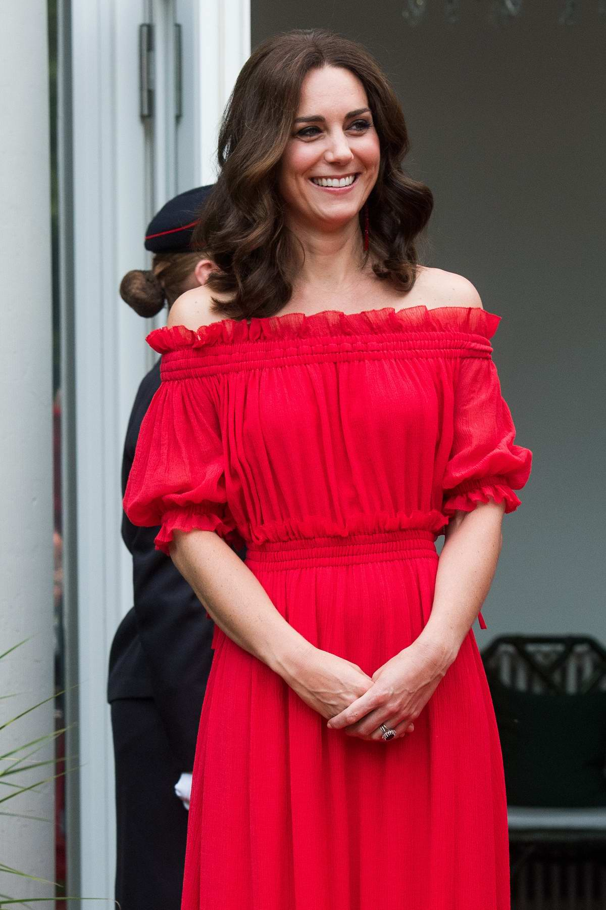 Kate Middleton attends the Queen's Birthday Garden Party in Berlin, Germany