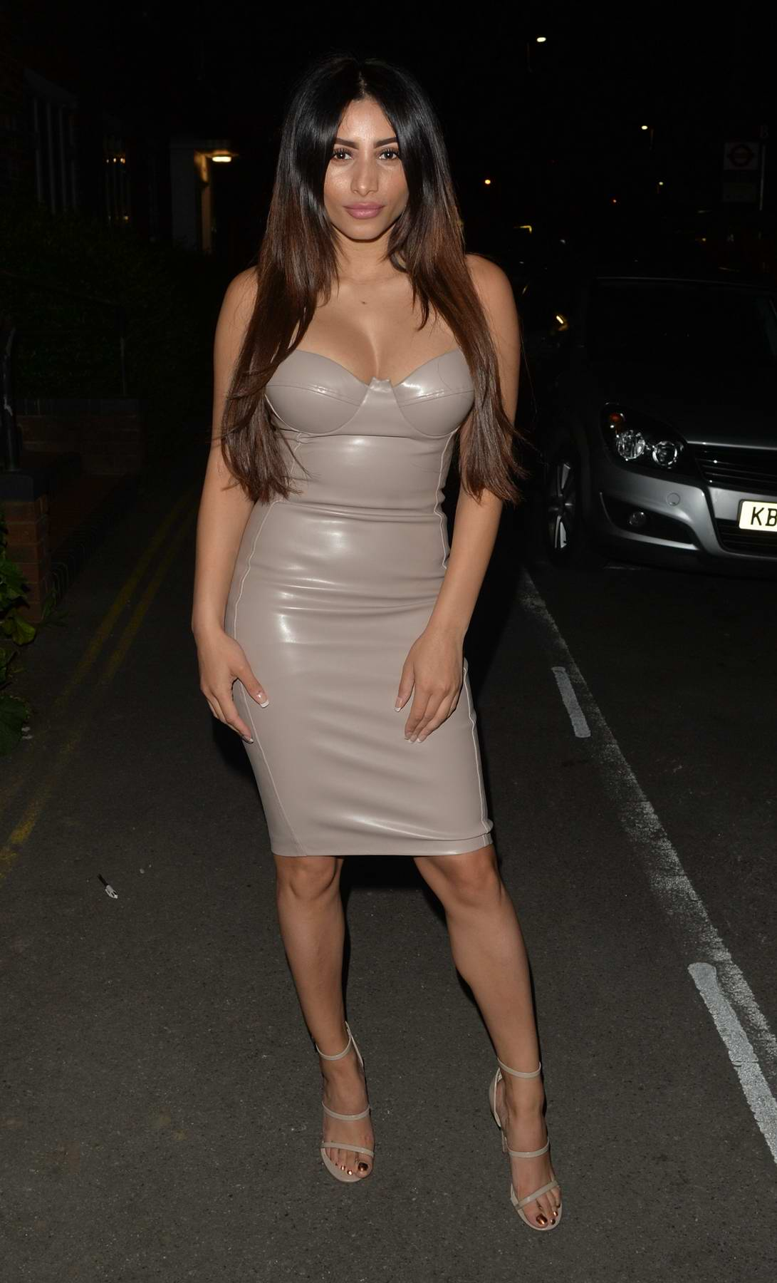 Kayleigh Morris arriving at the Mayfair Hotel in London