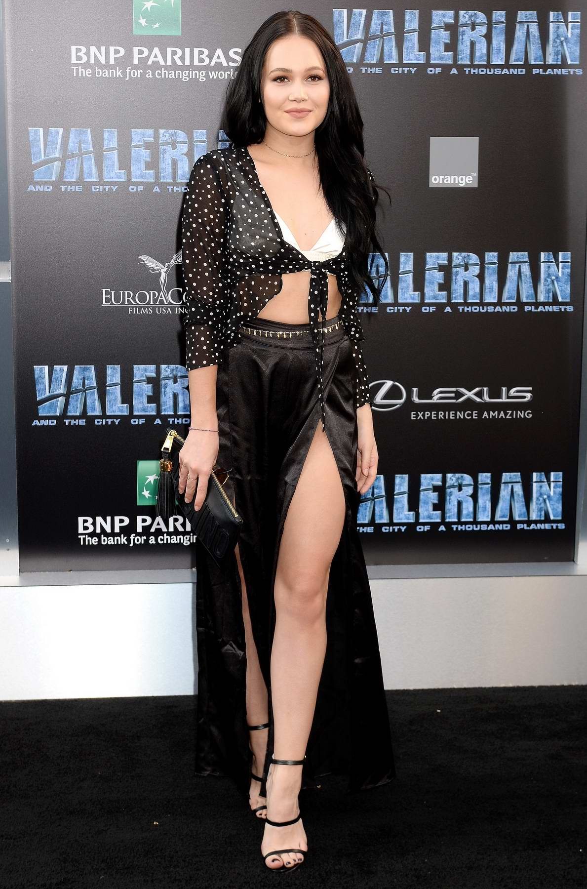 Kelli Berglund at Valerian and the City of a Thousand Planets Premiere in Hollywood, Los Angeles