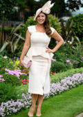 Kelly Brook attends Royal Ascot 2017 at Ascot Racecourse in Ascot, England