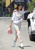 Kendall Jenner heading to a Spa in West Hollywood