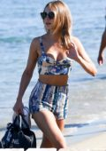 Kimberley Garner on a Holiday at Club 55 in Saint-Tropez, France