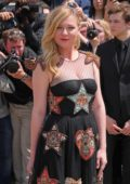 Kirsten Dunst at Christian Dior Show Fall/Winter 2017 Haute Couture Fashion Week in Paris, France