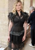 Kirsten Dunst at Rodarte Show Fall/Winter 2017 Haute Couture Paris Fashion Week in Paris, France
