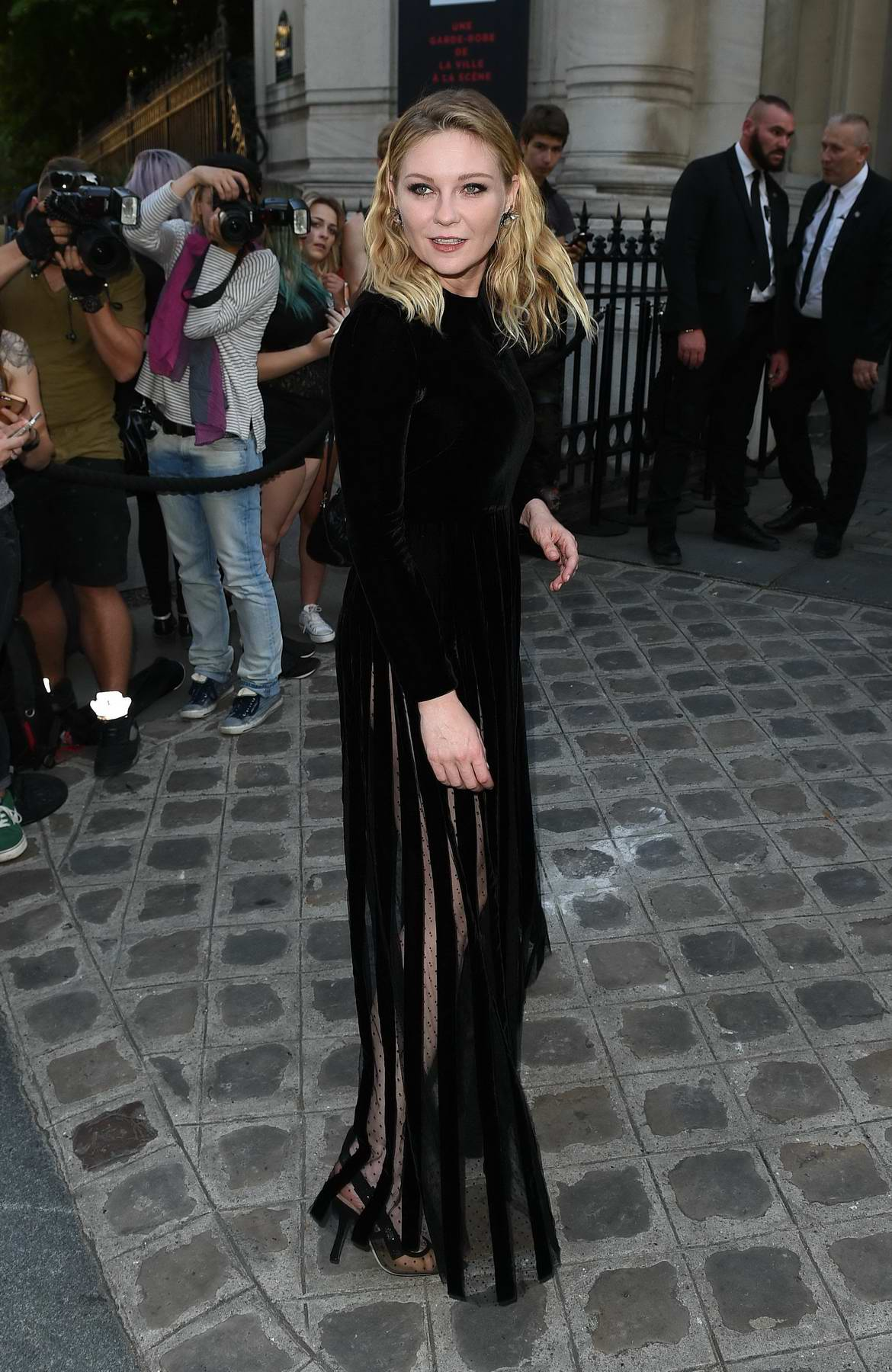 Kirsten Dunst at Vogue Party at Musee Galliera at Paris Fashion Week in Paris, France
