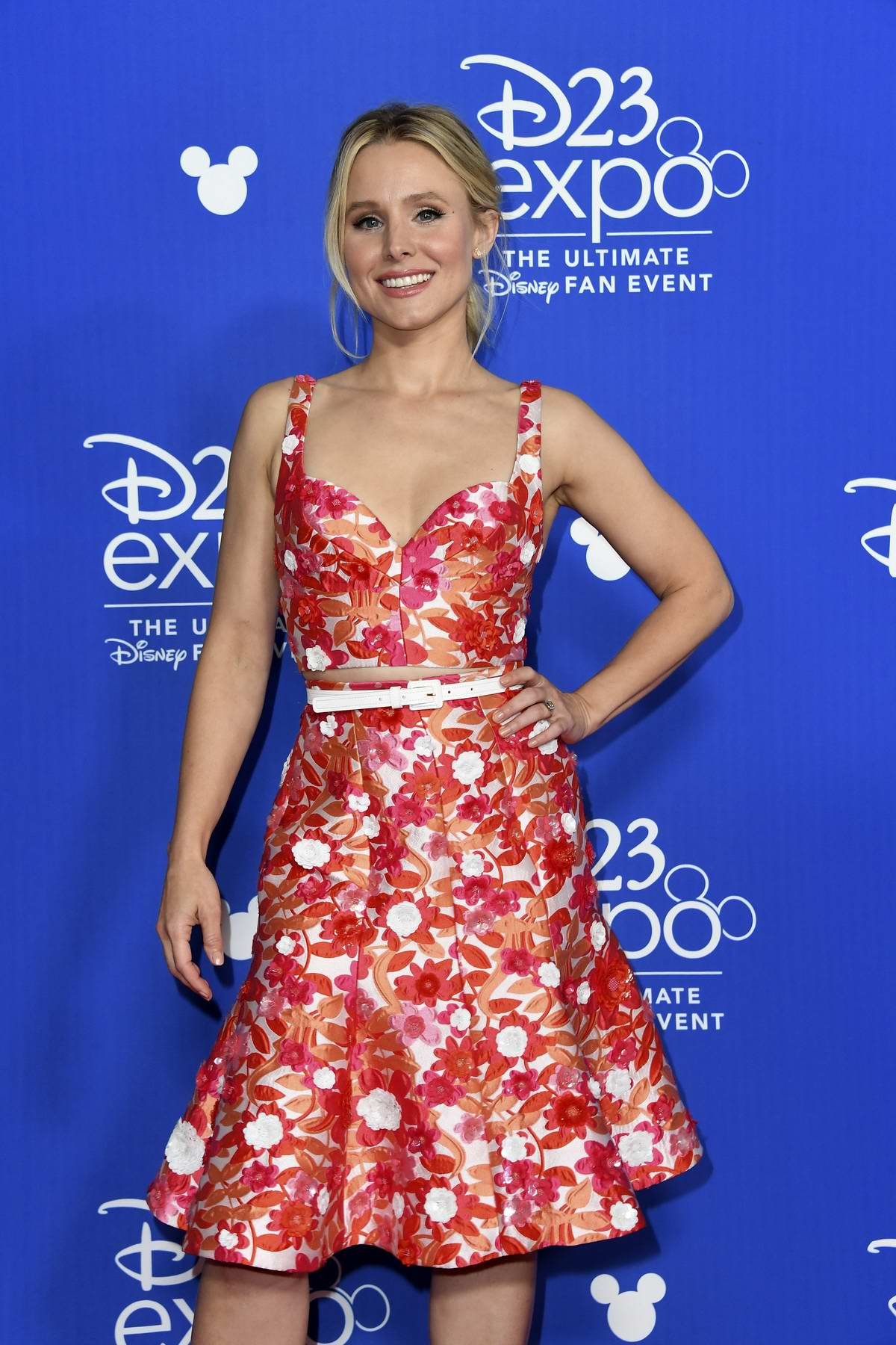 Kristen Bell at D23 Expo 2017 Day 1 at the Anaheim Convention Center in Anaheim, CA