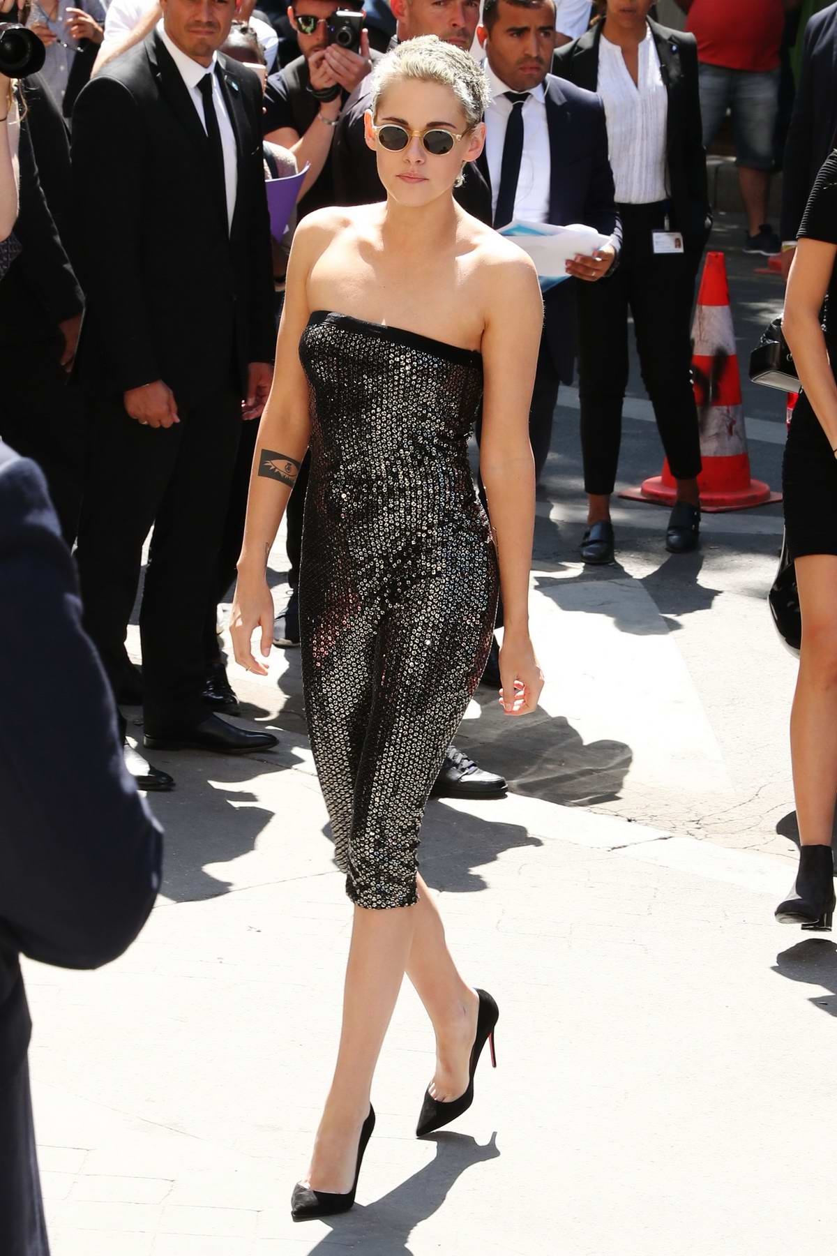 Kristen stewart at paris fashion week 67