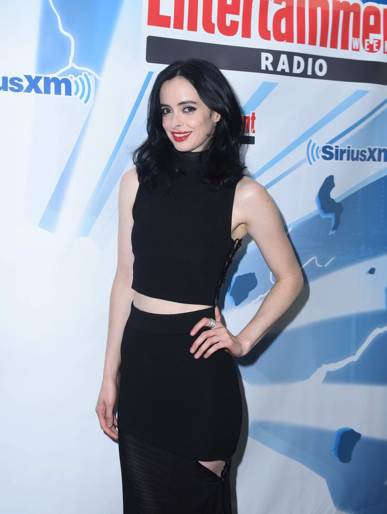 Krysten Ritter at SiriusXM's Entertainment Weekly Radio Channel Broadcasts from Comic Con 2017 in San Diego