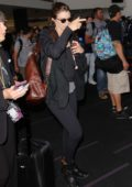 Lauren Cohan spotted arriving at LAX Airport in Los Angeles