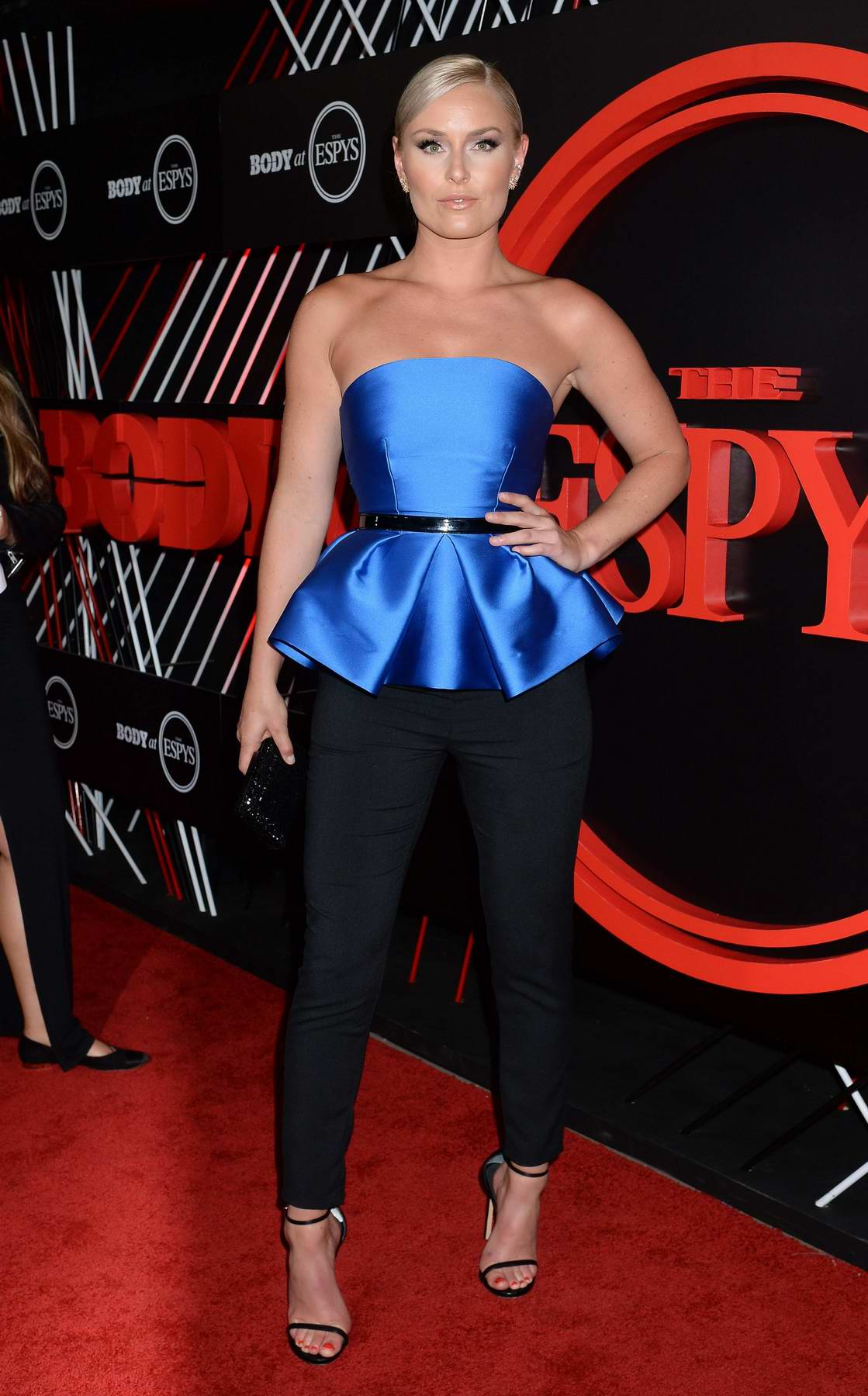 Lindsey Vonn attends BODY at ESPYS Party in Hollywood, CA