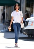 Lucy Hale is spotted getting Coffee in Los Angeles