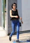 Lucy Hale spotted running errands in Beverly Hills
