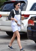 Lucy Hale stops by Joan's on Third for Lunch with Friends in Studio City, Los Angeles