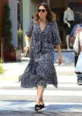 Mandy Moore heading to a Nail Salon in Beverly Hills