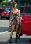 Megan Mckenna filming for new show Theres Something About Megan in Nashville, Tennessee