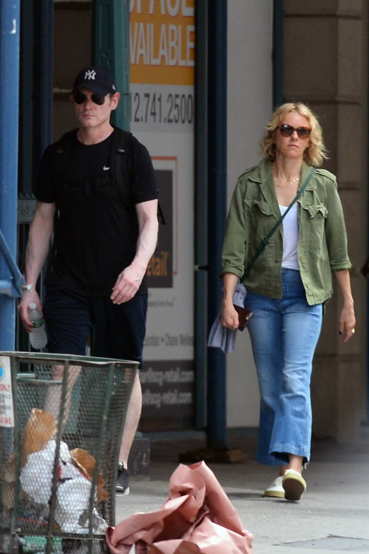 Naomi Watts and Billy Crudup are spotted stepping out together in New York