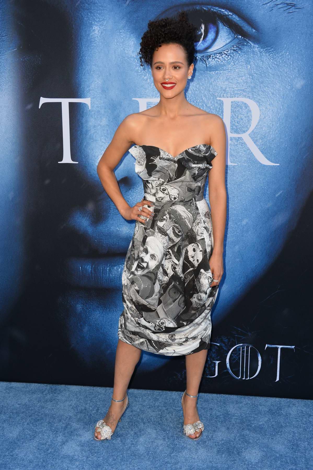 Nathalie Emmanuel at HBO's Game of Thrones Season 7 Premiere in Los Angeles