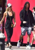 Nina Agdal out with a Friend in New York
