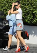 Olivia Munn leaving Cecconi's after Lunch in West Hollywood