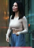 Olivia Munn in a Crop Top out in Vancouver, Canada