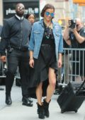 Paula Patton leaves AOL Build Series in New York