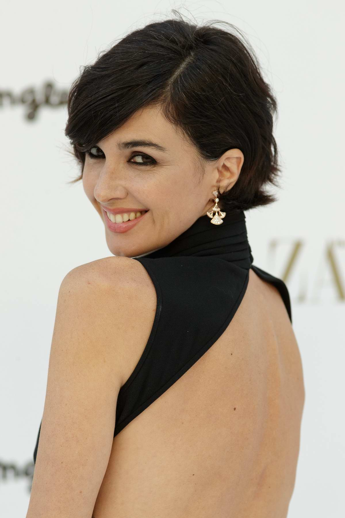 Paz Vega at the Photocall of the 150th Anniversary of Harper's bazaar Party in Madrid, Spain