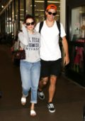 Riley Keough and her Husband arrives LAX Airport in Los Angeles