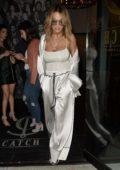 Rita Ora leaving Catch Restaurant in West Hollywood