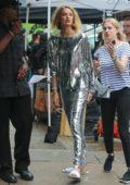 Romee Strijd on the Set of Michael Kor Photoshoot in New york