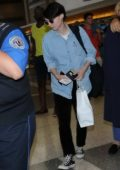 Rooney Mara heads through LAX Airport in los Angeles