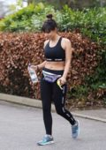 Roxanne Pallett leaving a Local Gym in Manchester, UK