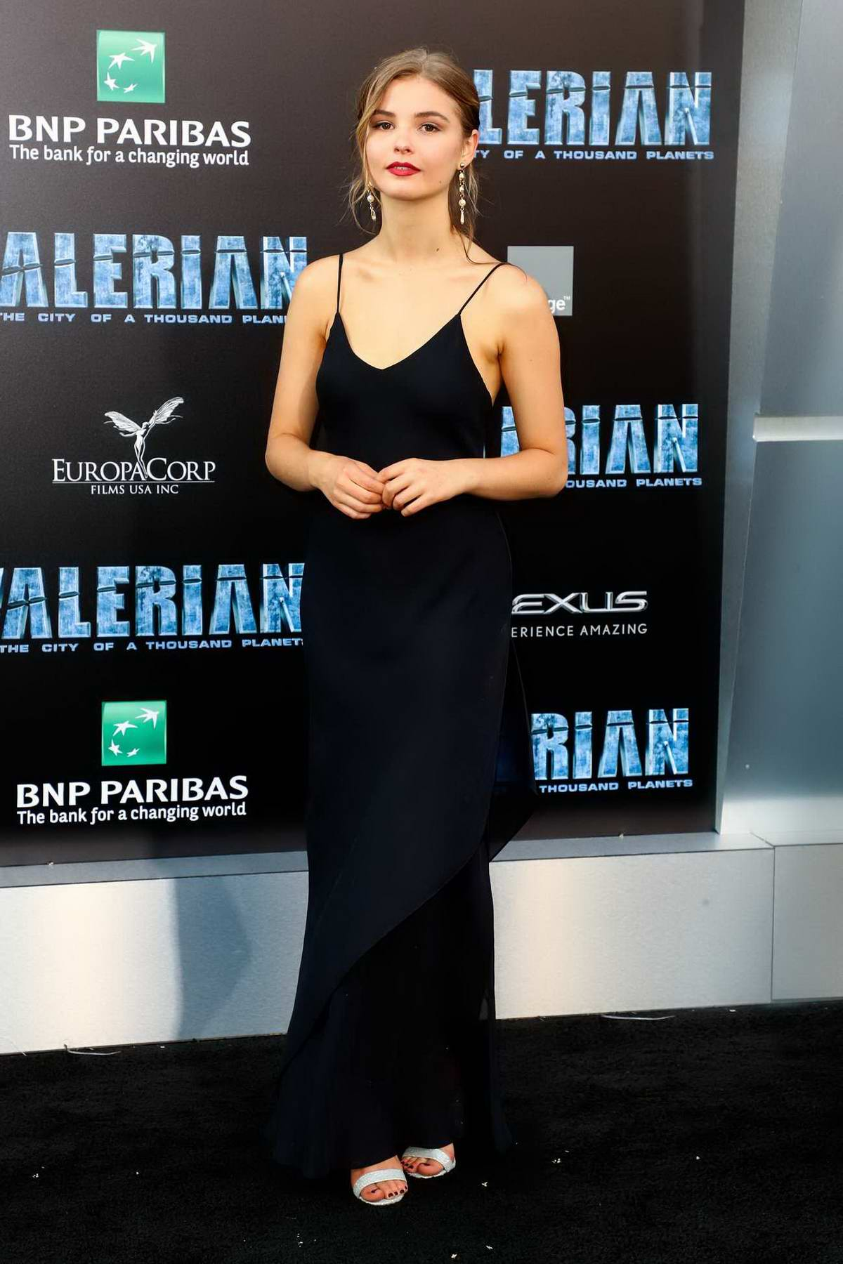 Stefanie Scott at Valerian and the City of a Thousand Planets Premiere in Hollywood, Los Angeles