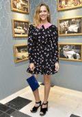 Teresa Palmer at Miu Miu Cruise Collection Show as part of Haute Couture Paris Fashion Week in Paris, France