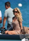 Victoria Silvstedt Out and About in Saint Tropez, France