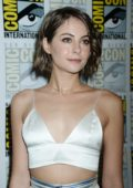Willa Holland at 'Arrow' presentation during day 3 of Comic Con in San Diego