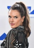 Alessandra Ambrosio at 2017 MTV Video Music Awards at the Forum in Inglewood, California