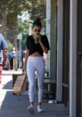 Alessandra Ambrosio leaving the Gym after a workout session in Los Angeles