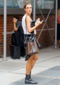 Alessandra Ambrosio out running errands in New York