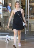Ana de Armas out shopping at The Grove with her dog in Hollywood, Los Angeles