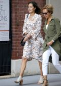 Ana Ivanovic out and about with a friend in New York