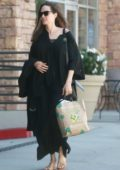 Angelina Jolie out with her Father and Daughter in Sherman Oaks, Los Angeles